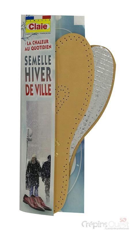 SEMELLE CLAIE HIVER DE VILLE REF 3002