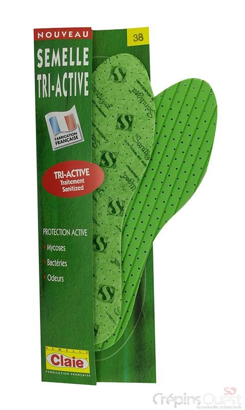 SEMELLE CLAIE TRI-ACTIVE REF 602 22/34