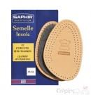 SAPHIR 1/2 SEMELLE CUIR LUXE / CHARBON